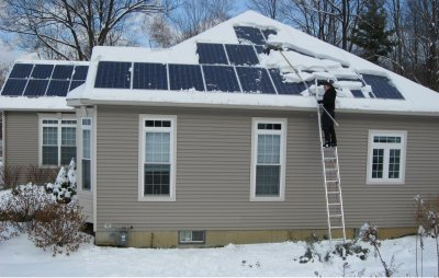 Let It Snow Solar Panels Can Take It We Speak For Earth